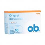 Absorvente Interno O.B Super Original 10 unidades - CX c/ 40
