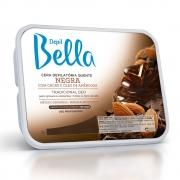 Cera Quente em Barra Depil Bella Negra Deo 1kg - CX c/ 6