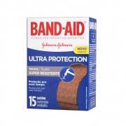 Curativos BAND AID Ultra Protection 15 unidades - CX c/ 24