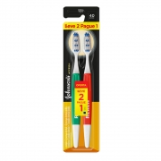 Escova Dental Johnson's Accsses Cabo Gde - Cerda Média L2P1 - CX c/ 12
