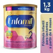 Fórmula Infantil Enfamil Premium 2 1300GR - CX c/ 6