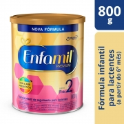 Fórmula Infantil Enfamil Premium 2 - 800g - CX c/ 6