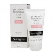 Gel Creme Hidratante Facial NEUTROGENA Oil Free para Pele Mista a Oleosa 50ml - CX c/ 6
