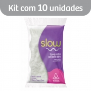 Kit c/ 10 Slow Betta Esponja Banho