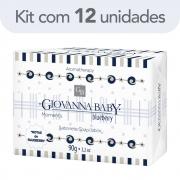 Kit c/ 12 Sabonete Giovanna Baby Moments Blueberry 90g