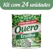 Kit c/ 24 Ervilha Quero Lata 170g