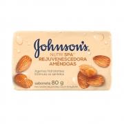 Kit c/ 24 Sabonete em Barra Johnson's Nutrispa Amêndoas 80g