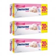 Kit c/ 3 Dermodex Prevent Creme 30g