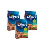 Kit c/ 3 Sustagen Kids Chocolate 190g