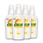 Kit c/ 4 Sun-In Clareador de Cabelos Phytoervas 120 ml
