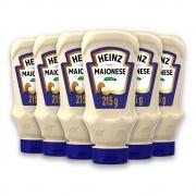 Kit c/ 6 Maionese Heinz Tradicional 215g