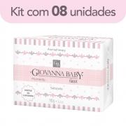 Kit c/ 8 Sabonete Retangular Classic Giovanna Baby Moments 90 g