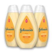 Kit com 3 Condicionador JOHNSON'S Baby Regular 400 ml