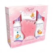 Kit Infantil Giovanna Baby Giby A Hora Do Banho Rosa - CX c/6