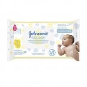 Lenços Umedecidos JOHNSON'S Baby Recém Nascido Sem Fragrância 48 unidades - CX c/ 24
