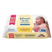 Lenços Umedecidos JOHNSON'S Baby Recém-Nascido Sem Fragrância 96 unidades - CX c/ 12