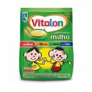 Mingau Vitalon Turma da Mônica Milho sachê 200g - CX c/ 24