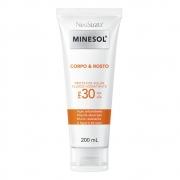 Neostrata Minesol Corpo e Rosto Protetor Solar Fluido Hidratante FPS 30 200 ml - CX c/ 6