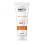 Neostrata Minesol Corpo e Rosto Protetor Solar Fluido Hidratante FPS 60 200 ml - CX c/ 6