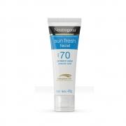 Neutrogena Sun Fresh Facial FPS 70 40g - CX c/ 6