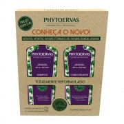Phytoervas Antiqueda Shampoo + Condicionador 250ml - CX c/ 6