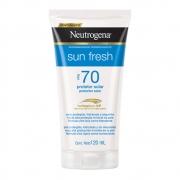 Protetor Solar NEUTROGENA Sun Fresh FPS 70 120ml - CX c/ 6