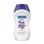 Protetor Solar SUNDOWN Praia e Piscina Kids FPS 60 120ml - CX c/ 12