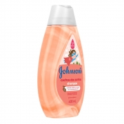 Shampoo JOHNSON'S Cachos dos Sonhos 400 ml - CX c/ 12