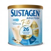 Sustagen Fit Complemento Alimentar Baunilha 370g - CX c/ 12