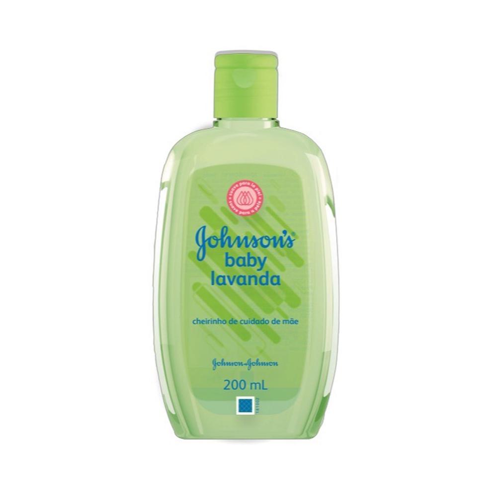Colônia JOHNSON?S Baby Lavanda 200 ml - CX c/ 12