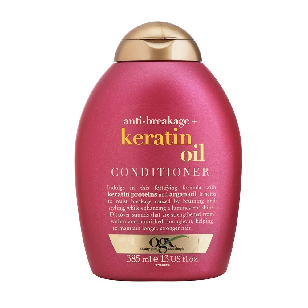 Condicionador OGX Keratin Oil 385ml - CX c/ 6
