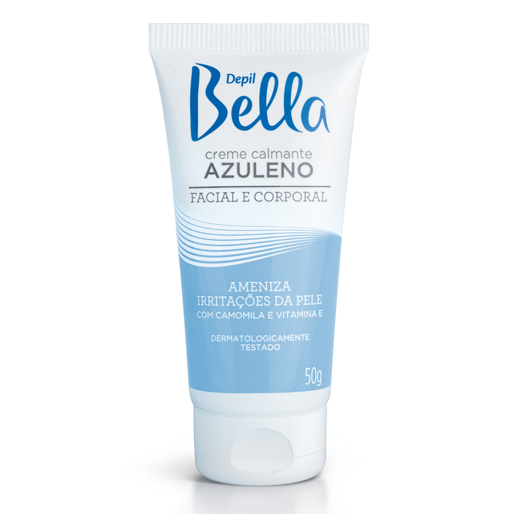 Creme Azuleno Depil Bella Deo 50g - CX c/ 12