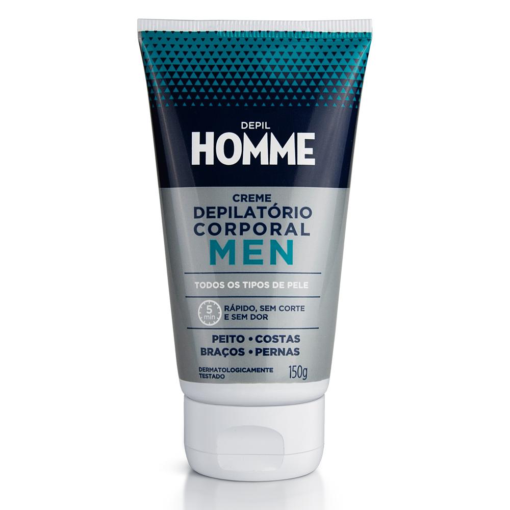 Creme Depilatório Masculino Depil Homme 150g - CX c/ 12