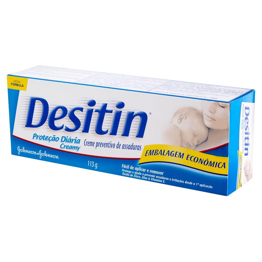 Creme Preventivo de assaduras DESITIN Creamy 113g - CX c/ 12