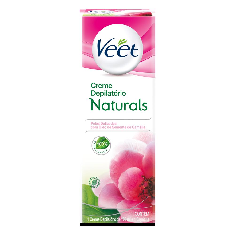 Creme VEET Naturals Camélia 100ml - CX c/ 12
