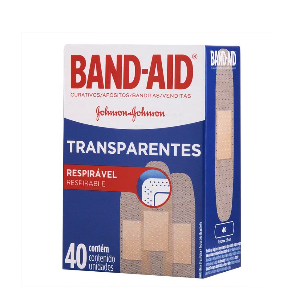 Curativos BAND AID Regular 40 unidades - CX c/ 72