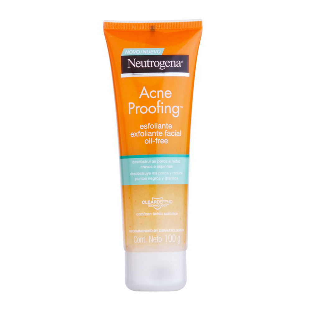Esfoliante NEUTROGENA Acne Proofing 100g - CX c/ 6