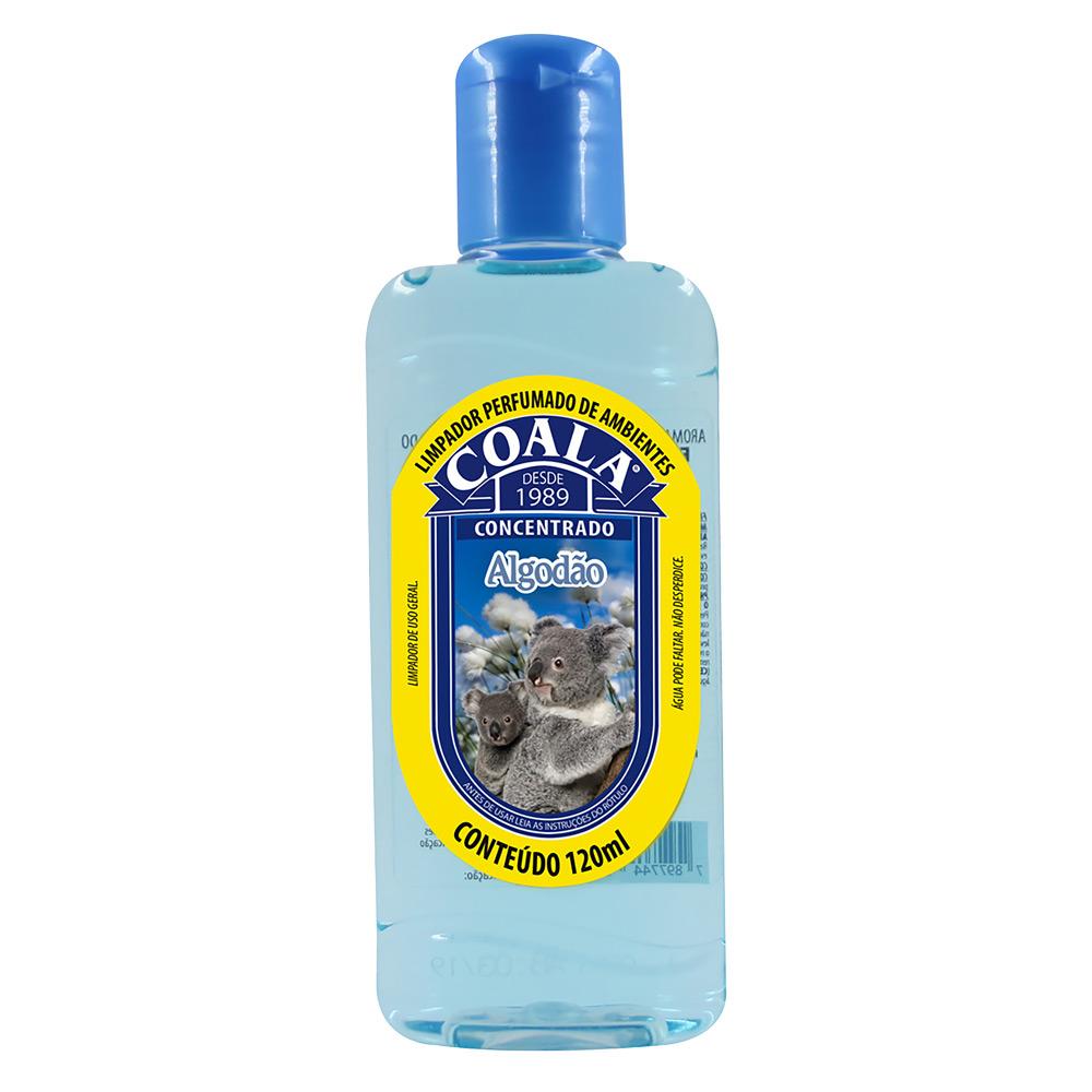 Essência para Limpeza Concentrada Coala 120ml Algodão - CX c/ 24