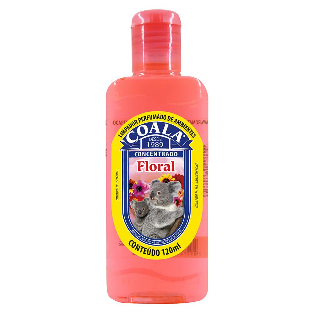 Essência para Limpeza Concentrada Coala 120ml Floral - CX c/ 24