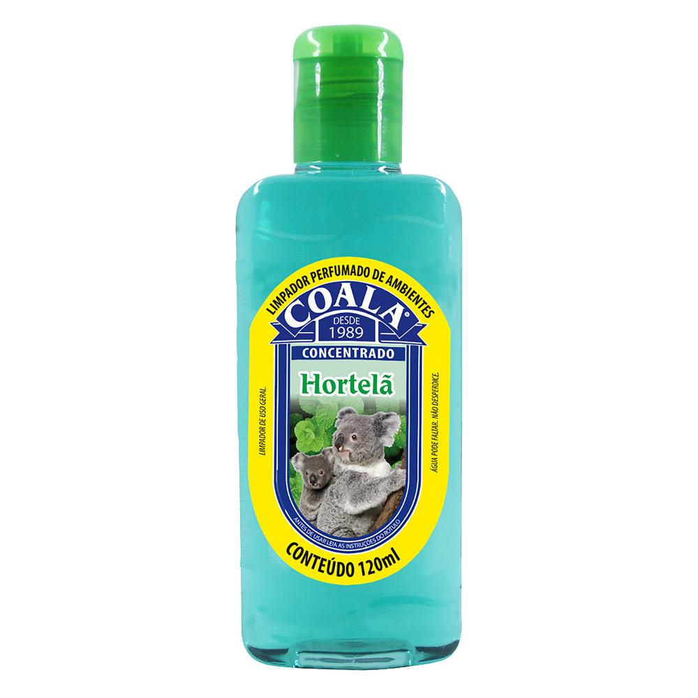 Essência para Limpeza Concentrada Coala 120ml Hortelã - CX c/ 24
