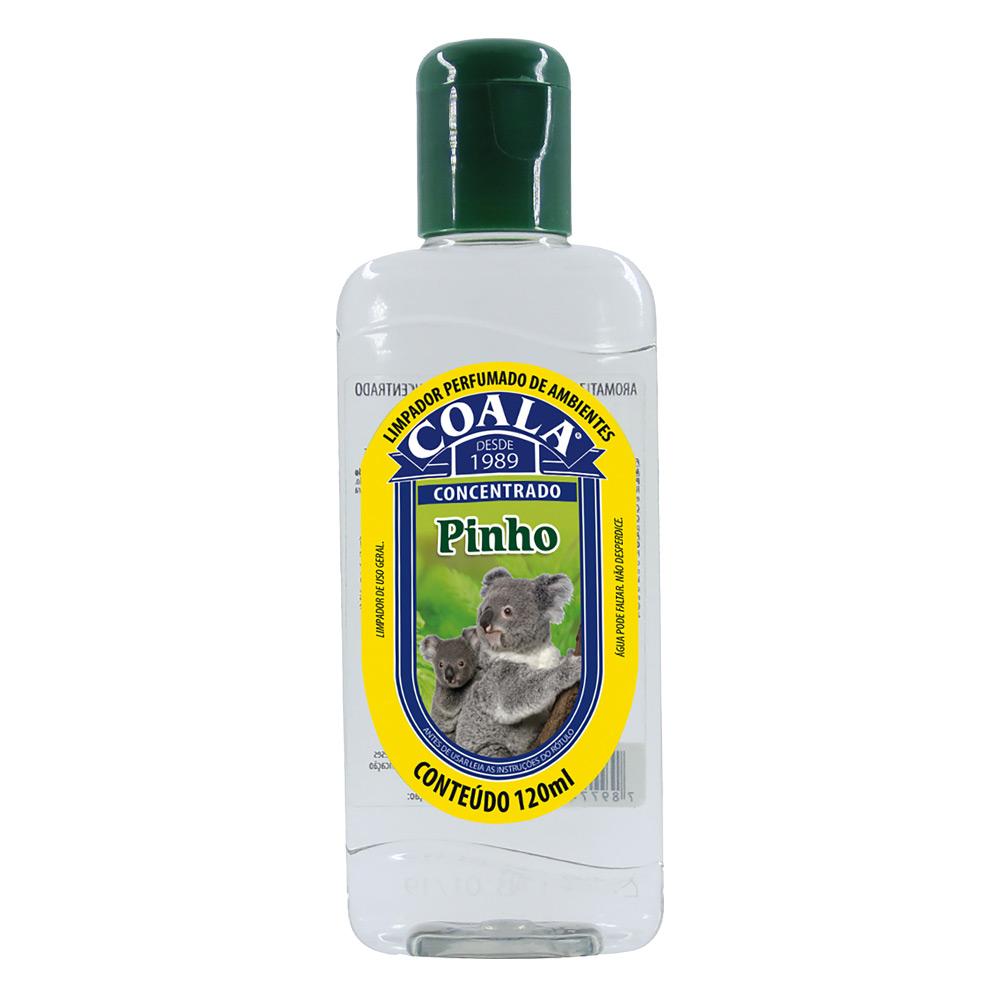 Essência para Limpeza Concentrada Coala 120ml Pinho - CX c/ 24