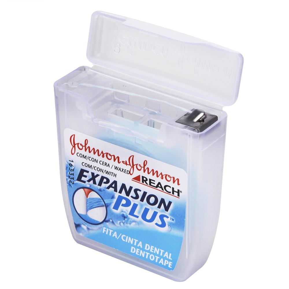 Fio Dental REACH JOHNSON'S Expansion Plus 50m - CX c/ 48