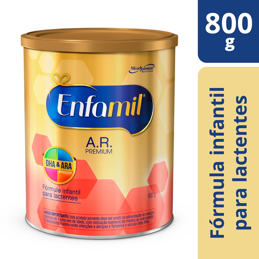 Fórmula Infantil Enfamil AR Premium 800g - CX c/ 6