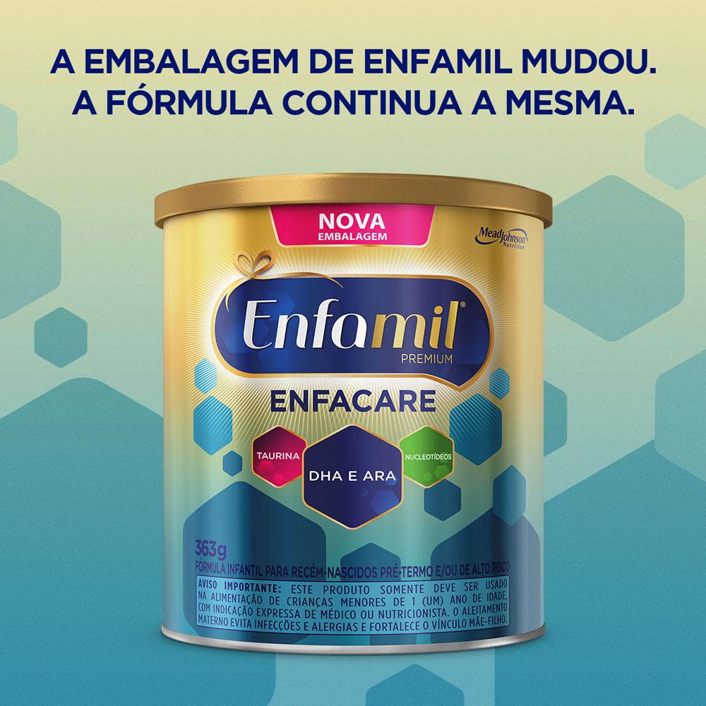 Fórmula Infantil Enfamil Enfacare 363g - CX c/ 6