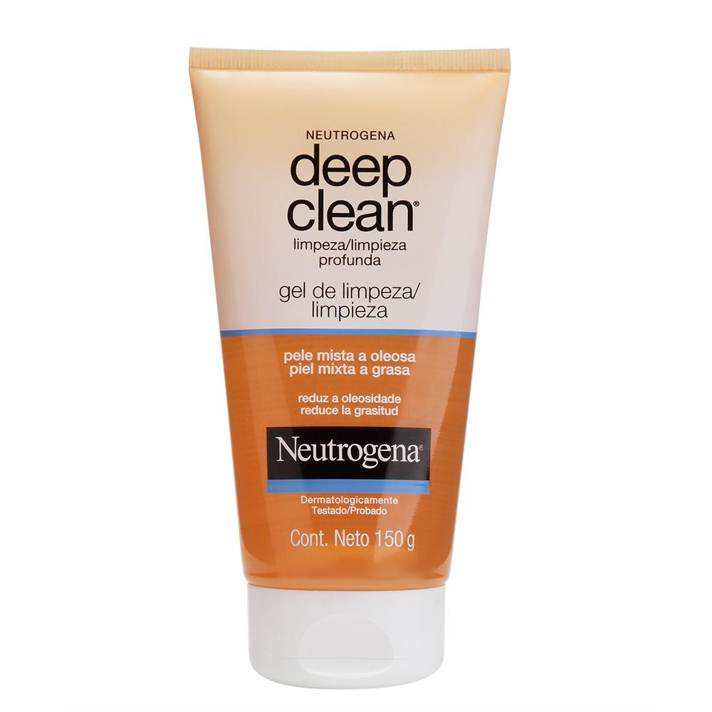 Gel De Limpeza Profunda NEUTROGENA DEEP CLEAN 150g - CX c/ 6