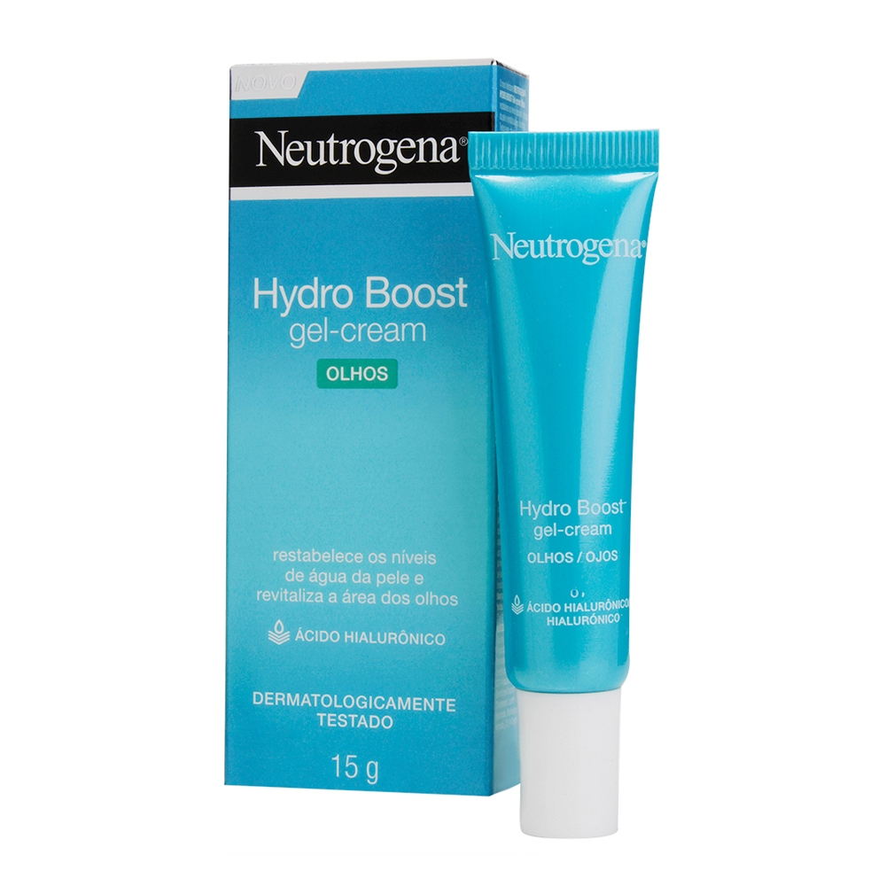 Gel Hidratante para área dos Olhos NEUTROGENA Hydro Boost 15g - CX c/ 6