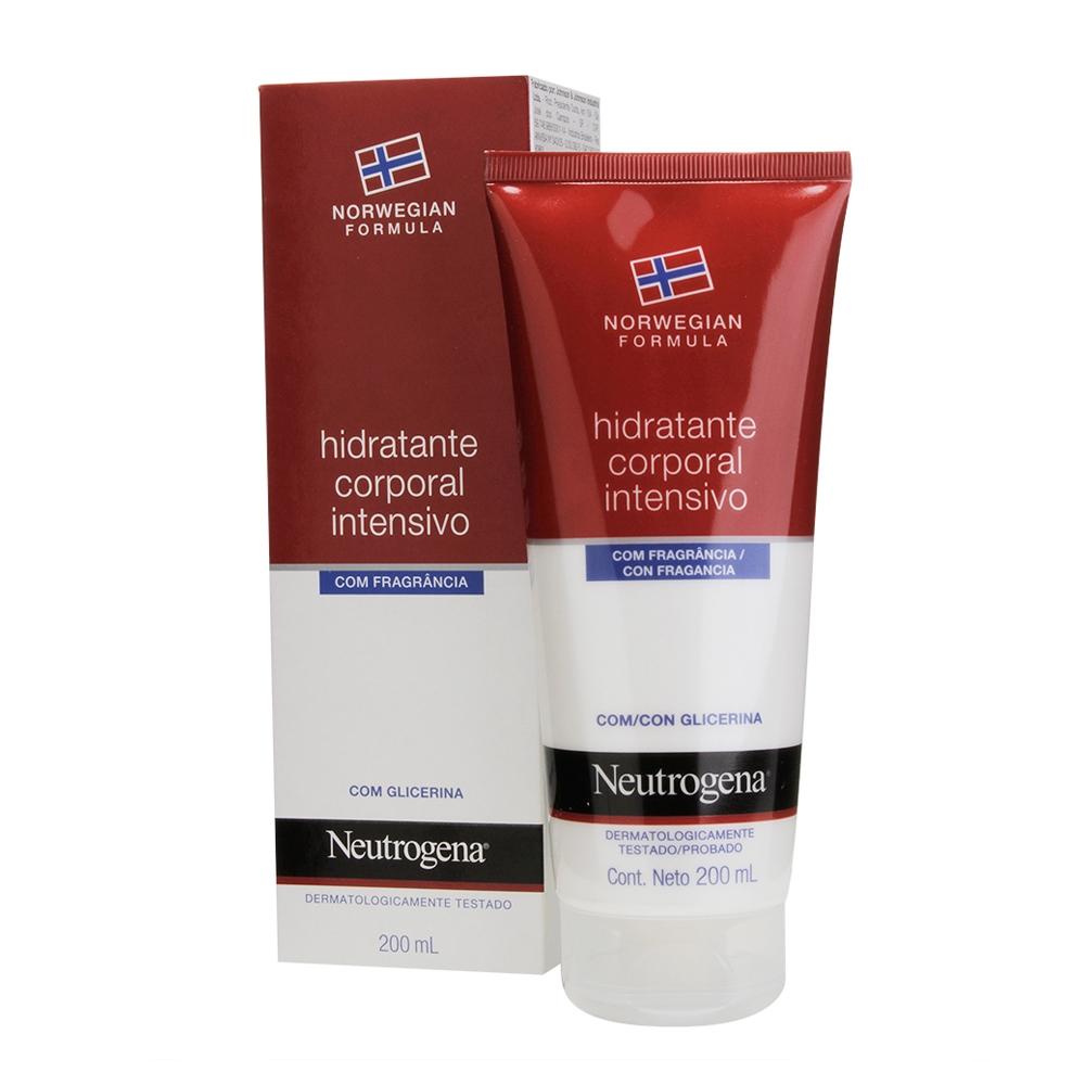 Hidratante Corporal NEUTROGENA Intensivo Com Fragrância 200 ml - CX c/ 6