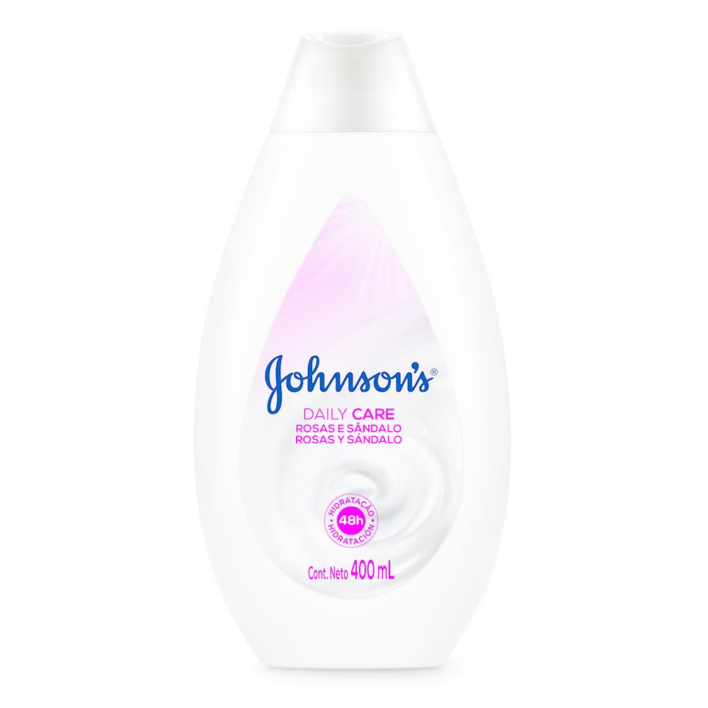 Hidratante Daily Care JOHNSON'S Rosas e Sandalo 400ml - CX c/ 12