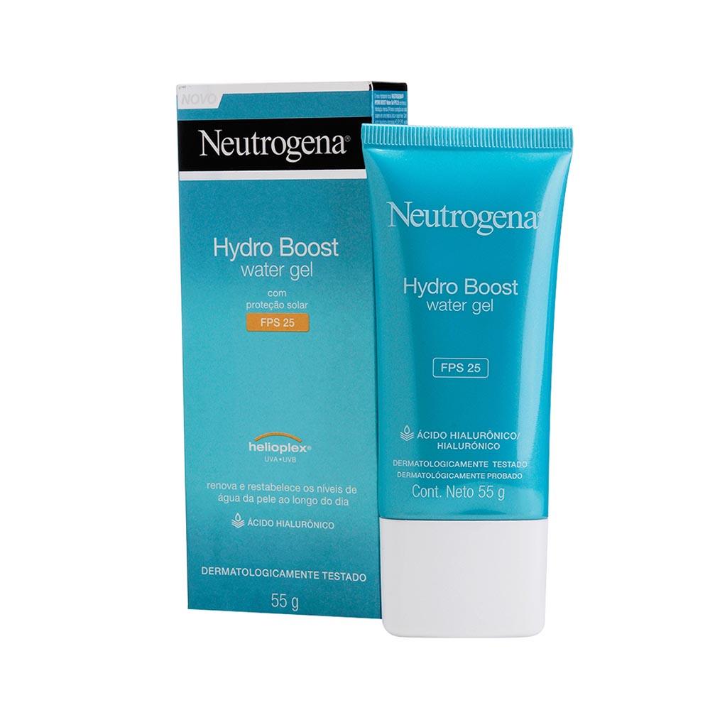 Hidratante Facial NEUTROGENA Hydro Boost Water FPS 25 55g - CX c/ 6