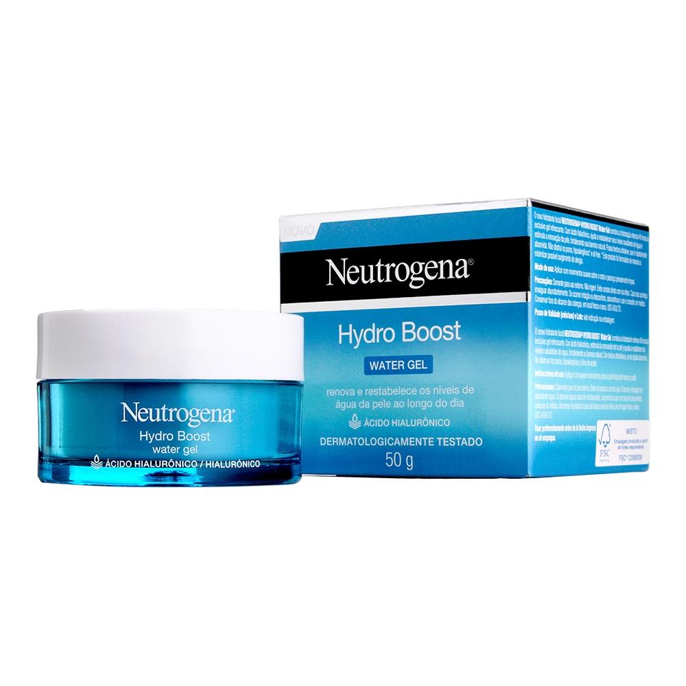 Hidratante Facial NEUTROGENA Hydro Boost Water Gel 50g - CX c/ 6